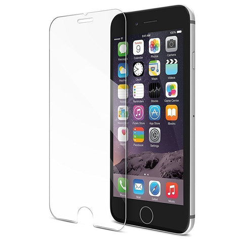iPhone 7 6s 6 Tempered Glass Screen Protector Cover by Techoland