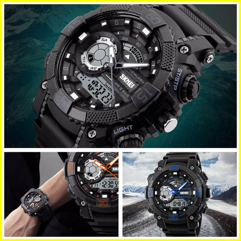 The BlackJack Ultra Rugged Digital Quartz 50M Sports Watch
