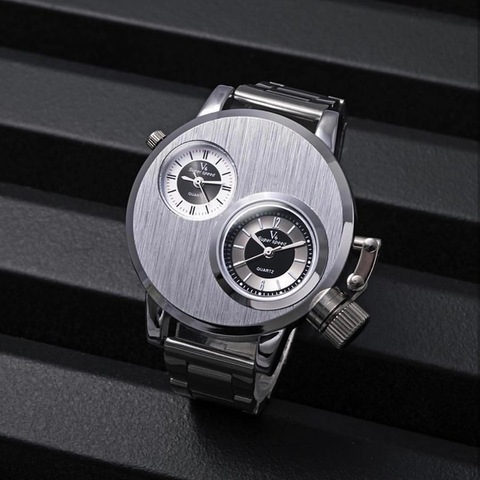 Dual Dial Vault Watch - Special Edition
