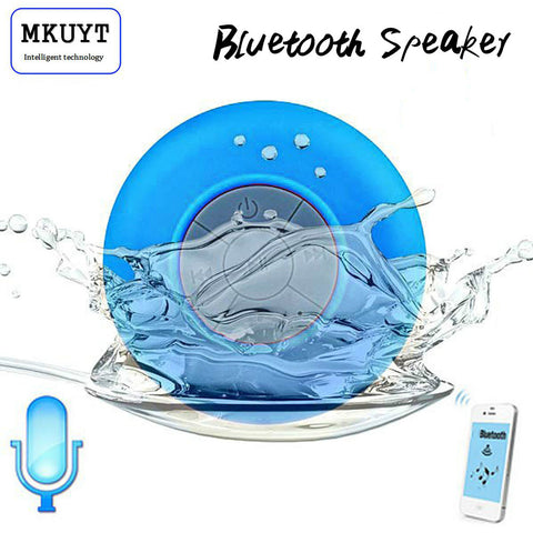 Mini Portable Subwoofer Shower Waterproof Wireless Bluetooth Speaker Car Handsfree
