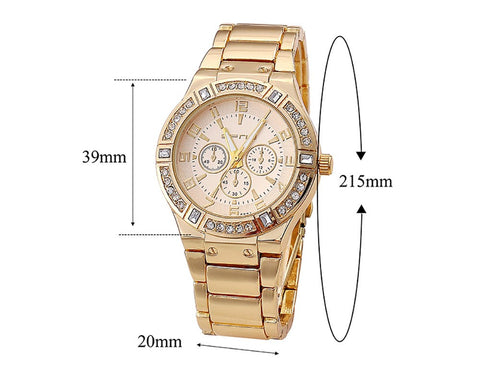 Fashion Eyes Luxury Brand Alloy Watch