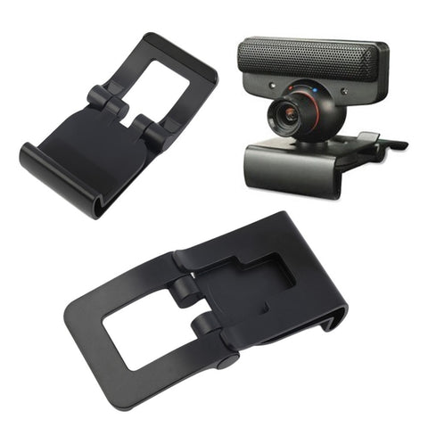 Black TV Clip Bracket Adjustable Eye Camera Mount Holder Stand For Sony PS3 Controller