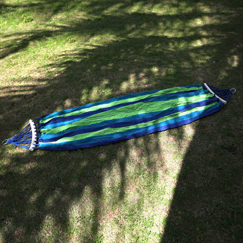 Portable Canvas Fabric for Single Person. suitable for Outdoor Camping Swing used as Hanging Bed