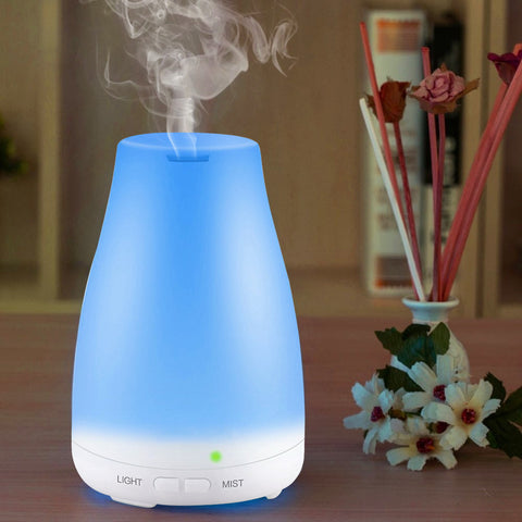 Essential Ultrasonic Humidifier, Cool Mist Humidifier with Adjustable Mist Mode, Perfect for Home or Office