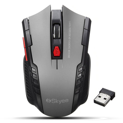 2000DPI Mini Portable Wireless Mouse for professional gamers, compatible with PC & Laptop