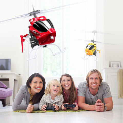 Mini RC Helicopter With Gyro Crash Resistant