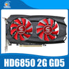 Veineda Graphic card HD6850 2GB GDDR5 Ram 256Bit Game Video Card