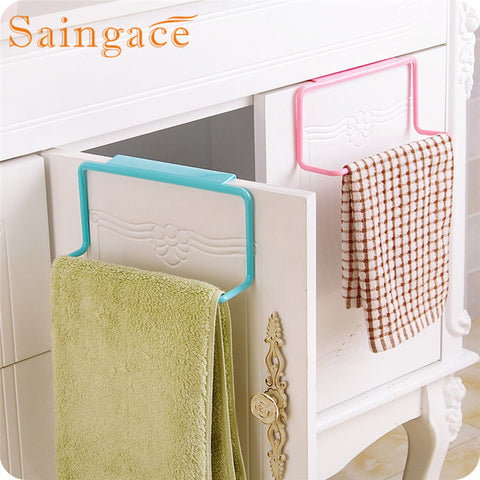 SAINGACE Storage Holders Towel Rack for Bathroom & Kitchen- for holding towels and daily usable wiping clothes