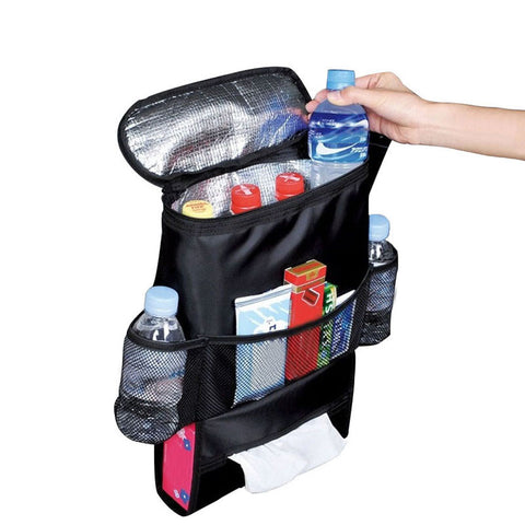 Auto Styling Insulated Food Storage Bag hold Lots of Accessories, Supplies, Products etc Available in Black Color