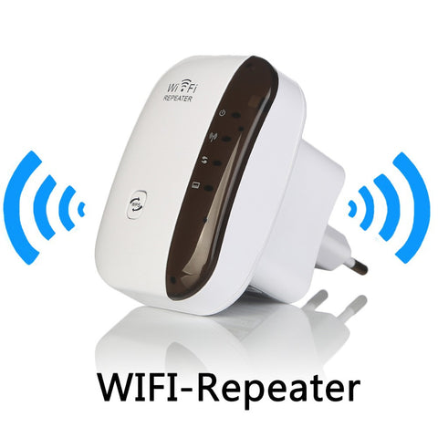 Wireless WiFi Signal Amplifier & Range Extender 802.11N/B/G Wi-fi 300Mbps Signal Boosters