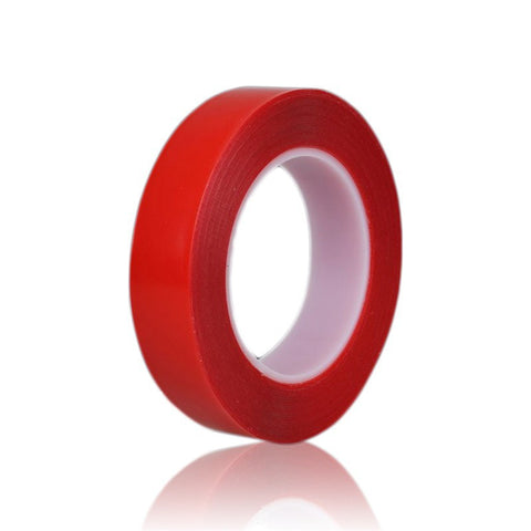 1 Roll 2mm x 25m Red High Strength Acrylic Gel Adhesive Double Sided Tape/ Adhesive Tape Sticker For Phone LCD Screen