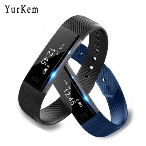 Yurkem Water proof fitness activity smart bracelet with vibrating alarm clock, Passometer,Message Reminder,Sleep Tracker,Remote Control,Call Reminder,Fitness Tracker,Push Message and many more
