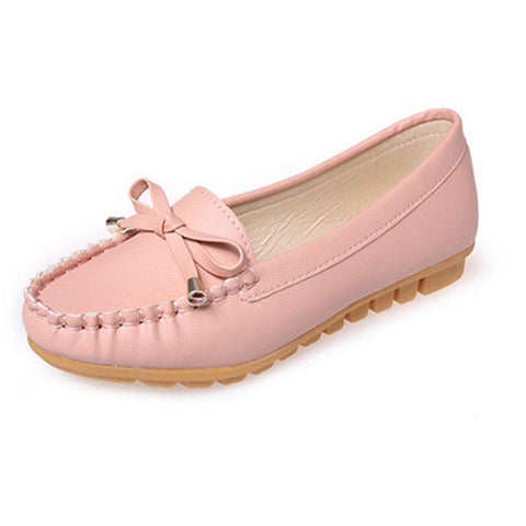 VTOTA Flat Shoes for Women - Available in Pink, White and Black Color