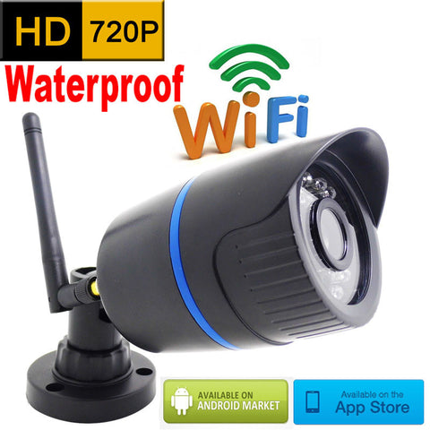 IP Camera 720p HD wifi outdoor wateproof cctv security system surveillance mini wireless cam