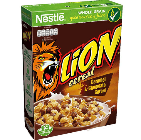 CORN FLAKES İTHAL NESTLE LION CEREAL 375gr