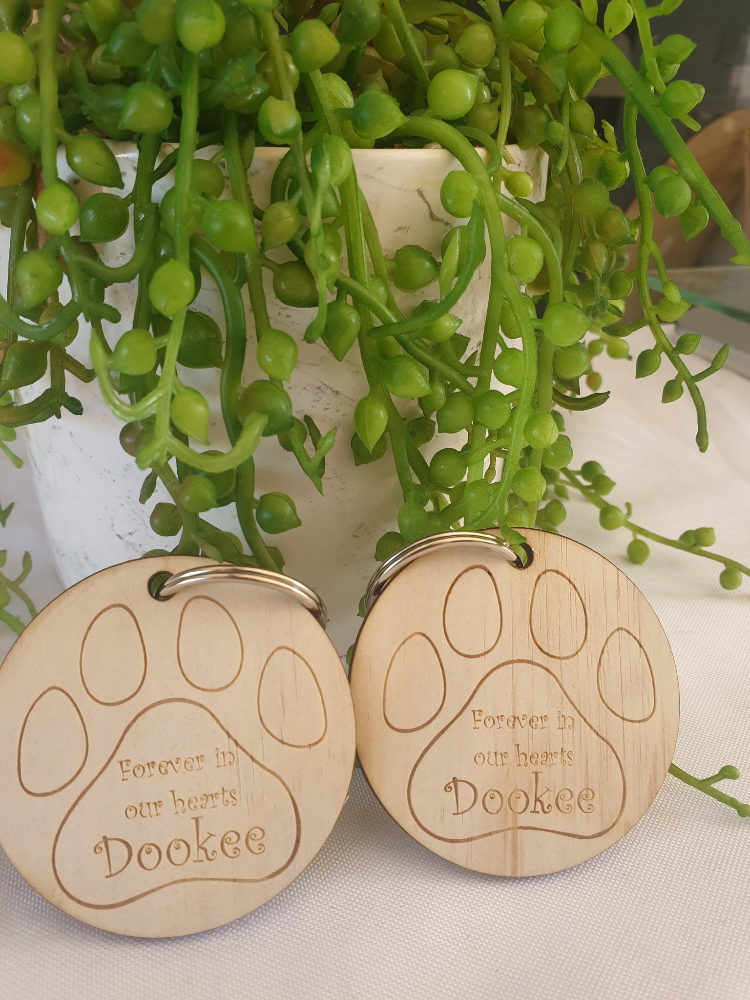 Pet Remembrance keyring