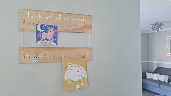 Art Hanger - look what I/we made
