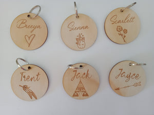 Bag Tags - Engraved
