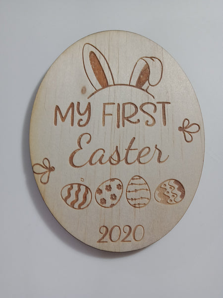 My First Easter Plaque