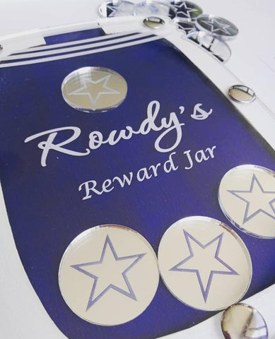 Personalised Reward Jar & 10 Tokens