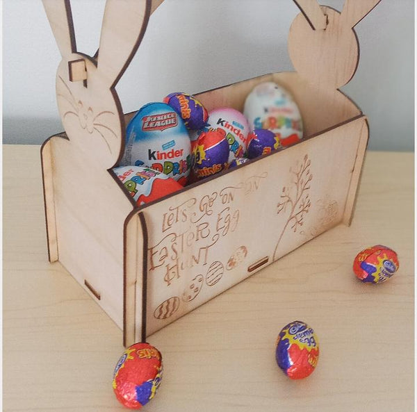 Personalised Easter Egg Basket