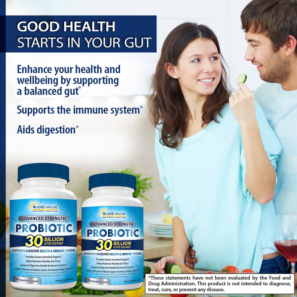Premium 30 Billion Probiotic Supplement