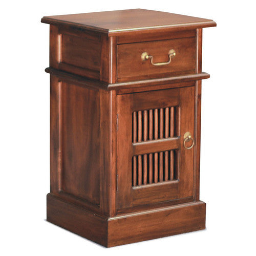 Bali Bedside Table 1 Drawer 1 Door ATF388BS-101-DW