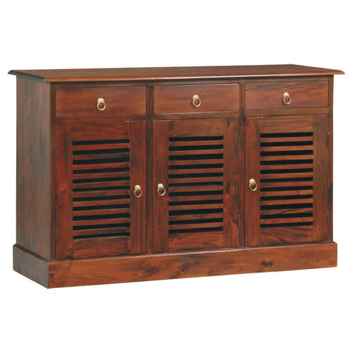 California-Stripe-Door-3-Drawer-Buffet-SB-303-HSR