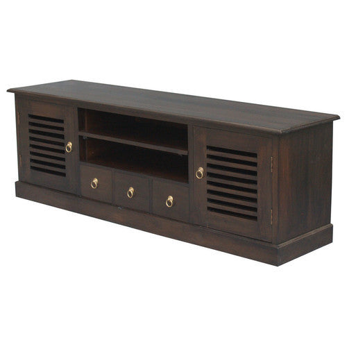 California-TV-Console-Stripe-160cm-Entertainment-Unit-in-Mahogany-or-Chocolate-SB-203-HSR