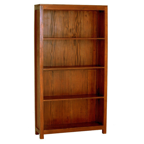 Ella-New-York-Wide-Light Pecan Color Bookcase ATF388
