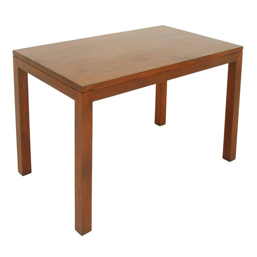 Los Angeles Solid Teak Timber 120cm Dining Table - Light Pecan ATF388DT-120-70-TA-LP_1