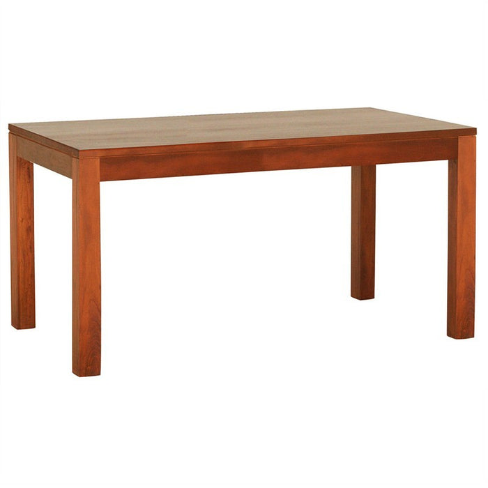 Los Angeles Solid Teak Timber 150cm Dining Table - Light Pecan ATF388DT-150-90-TA-LP_1