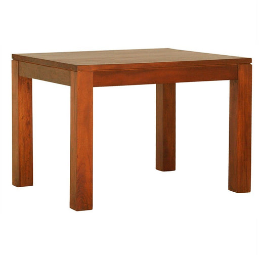 Los Angeles Solid Teak Timber 90cm Square Dining Table - Light Pecan ATF388DT-90-90-TA-LP_1