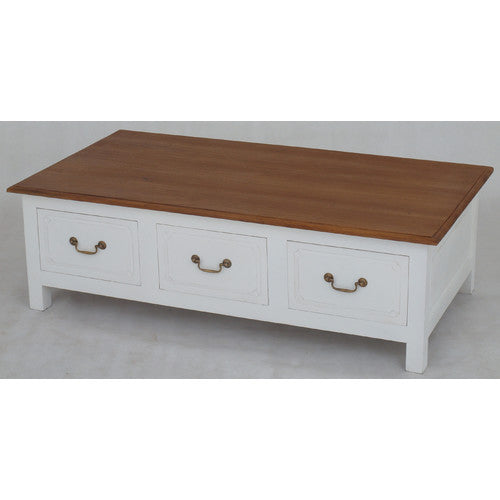Marseille French 6 Drawers Coffee Table ATF388