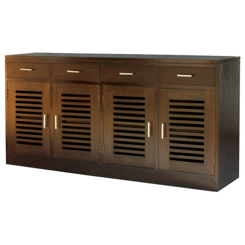 Netherlands-4-Door-4-Drawer-Holland-Teak-Buffet-SB-404-HSR-FL