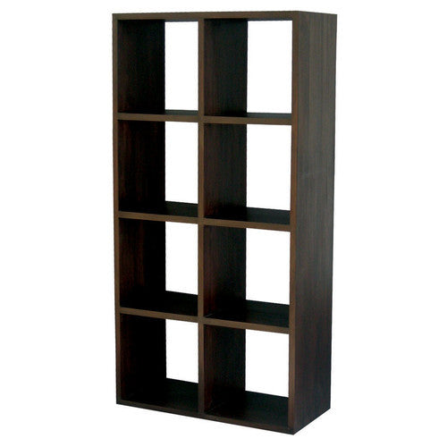 Victoria New York Teak Bookcase Cube-Eight-Shelf-ATF388CU-008-RPN