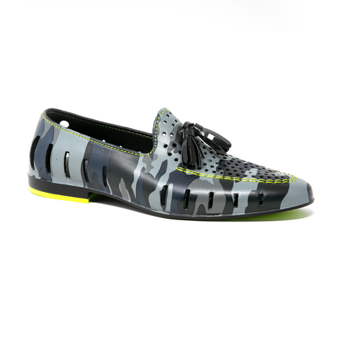 BLACK CAMO/ACID LIME (MENS)