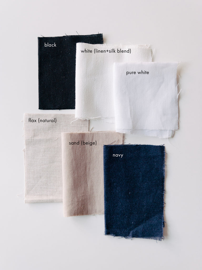 essential colours / linen fabric