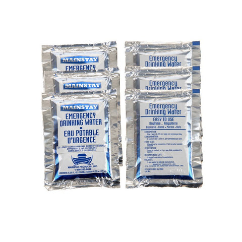 Mainstay Emergency Drinking Water Packets