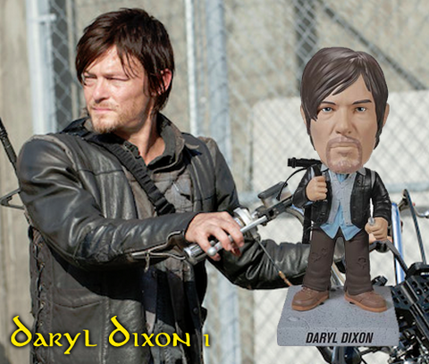 The Walking Dead Biker Daryl Dixon Vinyl Figure