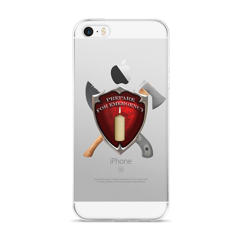 P4E Shield iPhone 5/5s/Se, 6/6s, 6/6s Plus Case