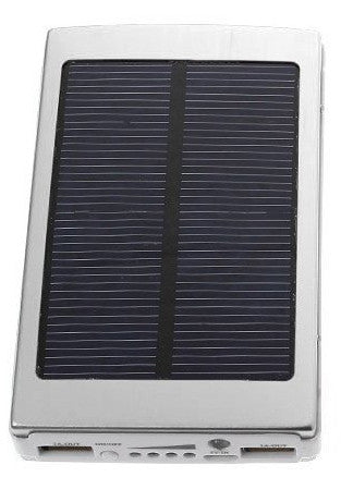 Solar Power Bank Black