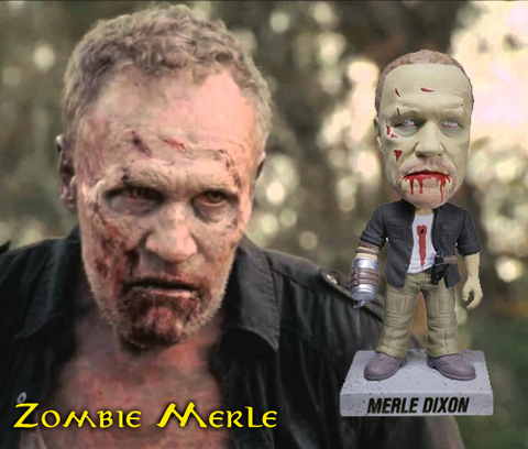 The Walking Dead Zombie Merle Dixon Vinyl Figure