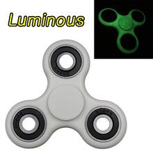 Fidget Spinner Finger ABS EDC Hand Spinner Tri For Kids Autism