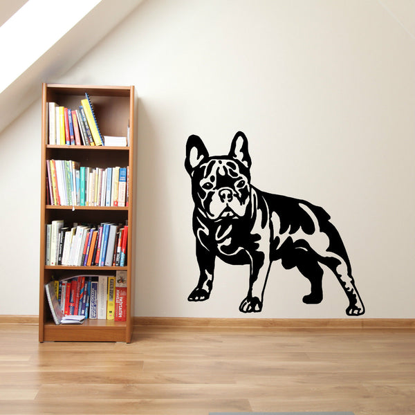 My Pet FRENCH BULLDOG DOG vinyl wall art sticker decal home decor (other animals available)