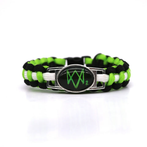 New Watch Dogs 2 Paracord Bracelets  High Quality