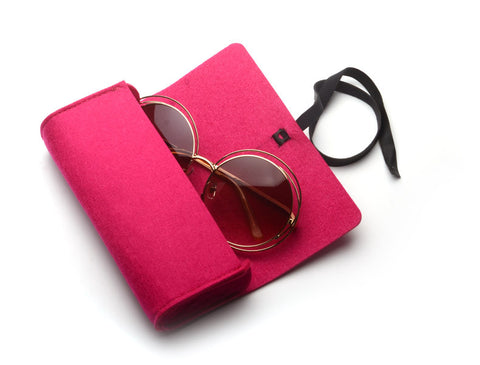 Top-grade Exquisite Sunglasses Boxes High Quality Luxury  Fabric Fashion Accessory