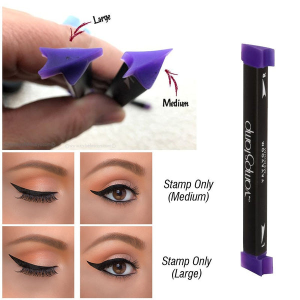 3 Pcs/Set Vamp Stamp Eyeliner  Beauty