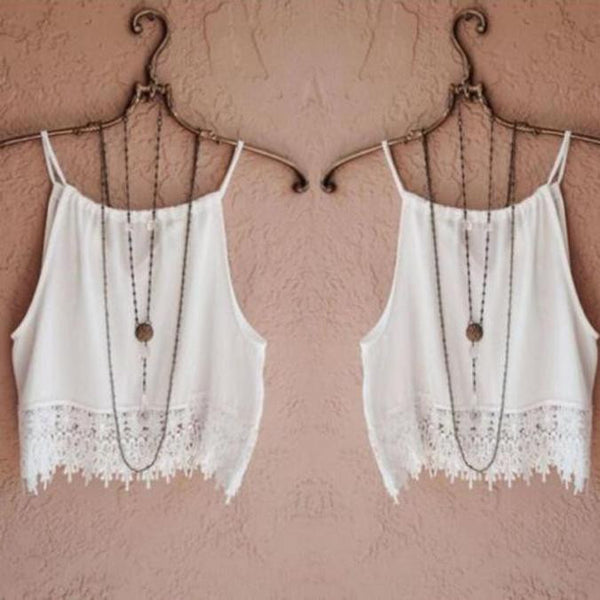 Women Lace Tops Short Sleeve Tank Tops Tee T-Shirt