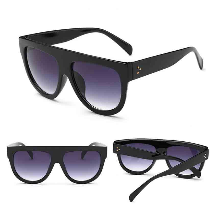 Men Women Square Vintage Mirrored Sunglasses Eyewear